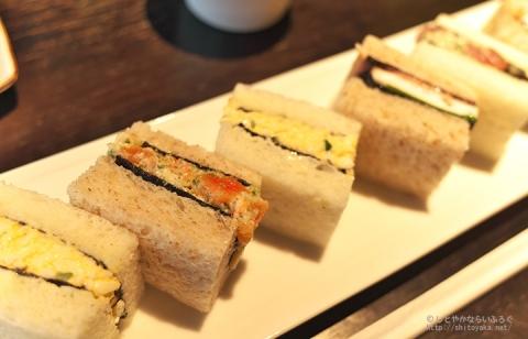 目からウロコ! GINZA KABUKIZA内「寿月堂」の海苔を挟んだ和風サンドイッチが旨すぎる