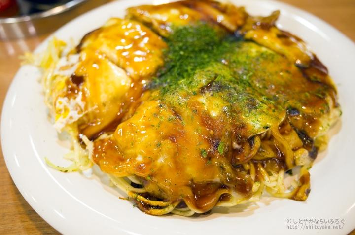 新幹線で帰る前に寄って食べたい、お好み焼き「みっちゃん」