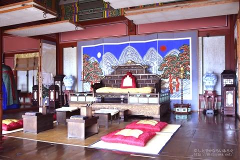 世界遺産 水原華城の行宮はお城なのにコンパクト