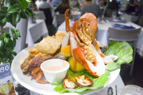 「Nick's Seafood」の絶品シーフードと夜景が最高でした【シドニー旅行】