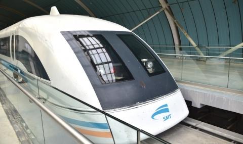 <上海旅行>空港~市内を往復する世界最速のリニアモーターカー「マグレブ」