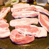 おいしい黒豚をたっぷり堪能できてリーズナブル♪「トムベ豚(トムベドン)」#済州島