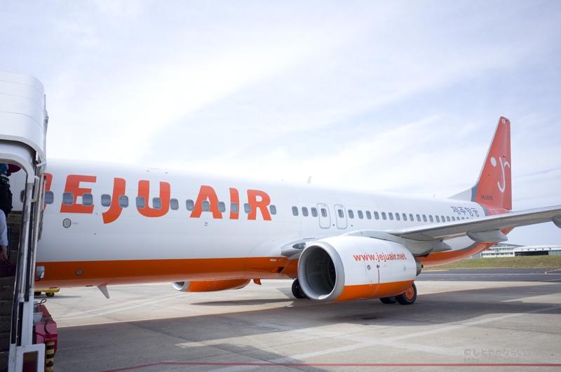 金浦空港から済州空港の移動でチェジュ航空(Jeju Air)に乗ってみました #搭乗口コミ