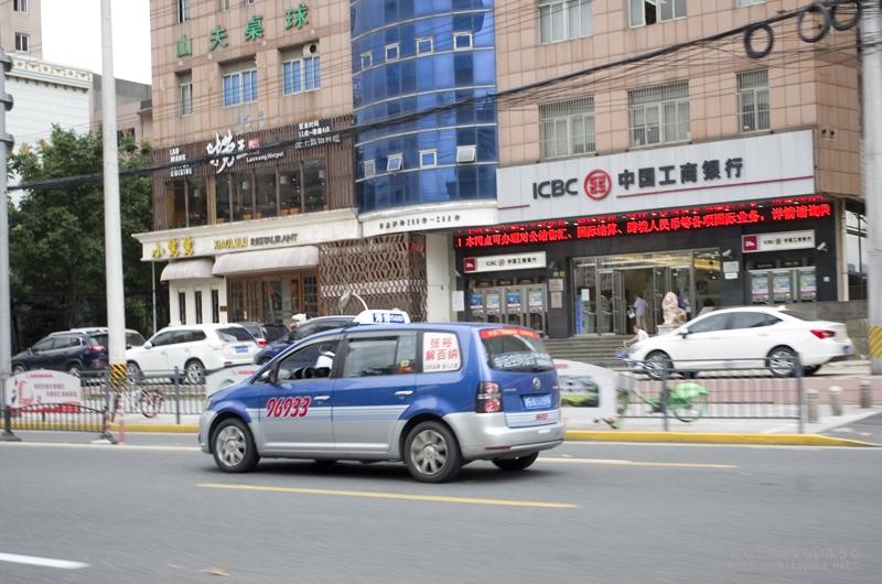 安くて便利だけど捕まえにくい、上海のタクシー事情 #上海旅行