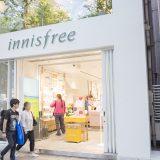 韓国コスメ「イニスフリー」が日本の表参道に直営店をオープン