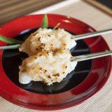 八坂神社の境内にある「中村楼」の祇園祭限定!  神事ゆかりの稚児餅