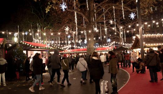 ロンドンのクリスマスマーケットでM.ジャクソンの「Black or white」を歌った話