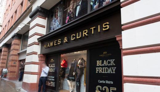 「Hawes & Curtis」のシャツが安くてオシャレ #ロンドン