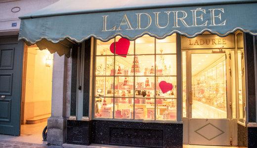 「ラデュレ(LADURÉE)」でおいしいパリの朝食を食べよう
